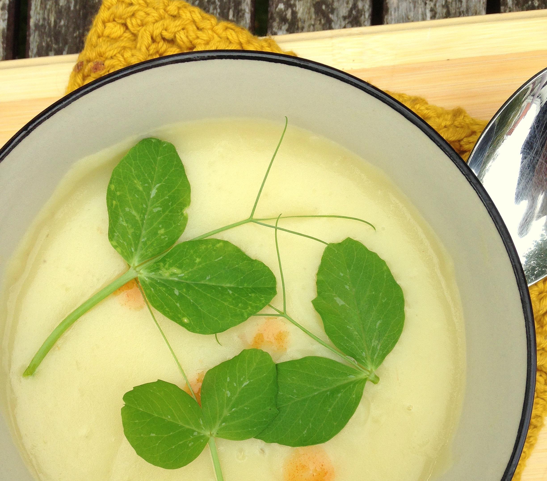 suppe med jordskokker