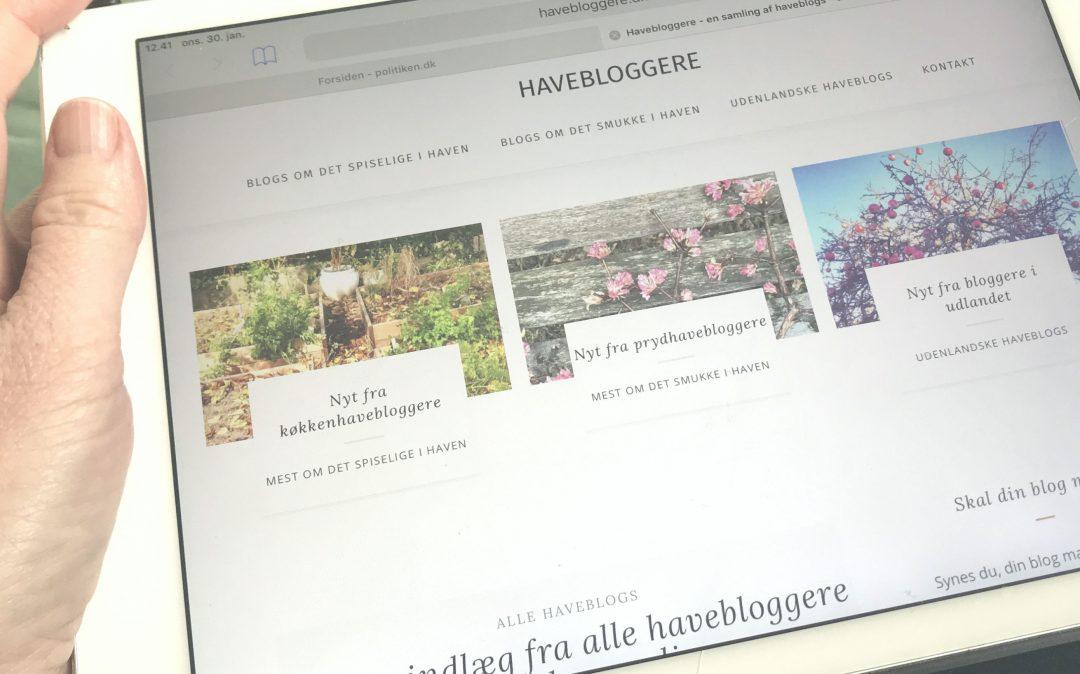 samling af haveblogs